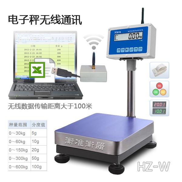 无线电子秤串口通讯连接电脑Win7